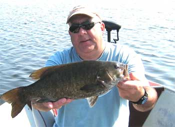 canada fishing for giant trophy smallmouth bass