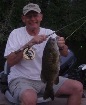 fly fishing smallmouth bass trophy Ontario