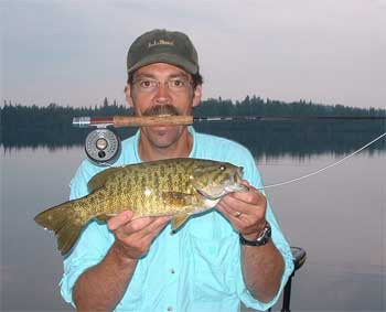 Fireside lodge fly fishing for Fly fishing for smallmouth bass