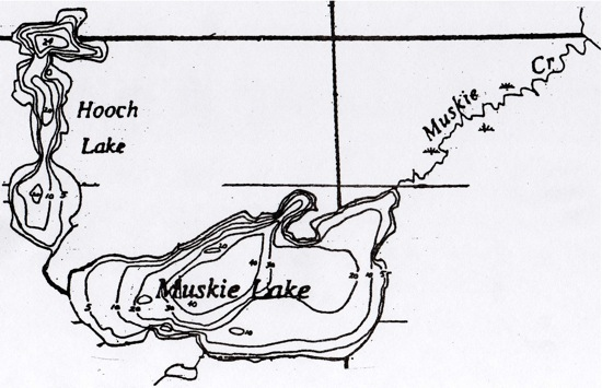 fishing lakes map Ontario Canada