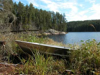 Ontario poratge fishing lakes Sioux Lookout