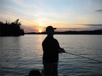 fishing in Ontario near Sioux Lookout