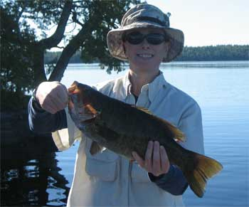 Smallmouth Bass Giant Ontario
